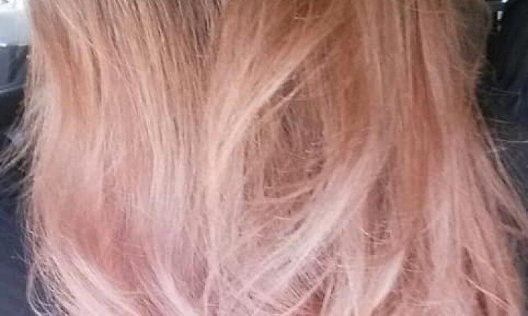 ombré haire rose gold pastel sublimel coiffure saverne schwenheim
